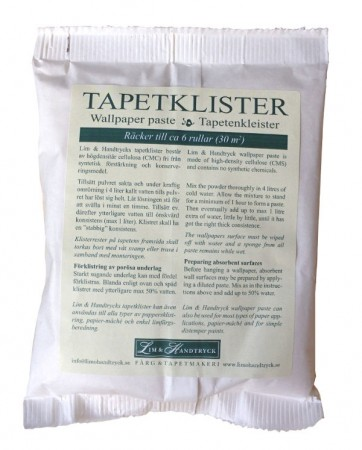 Tapetlim av cellulose - 100 gram